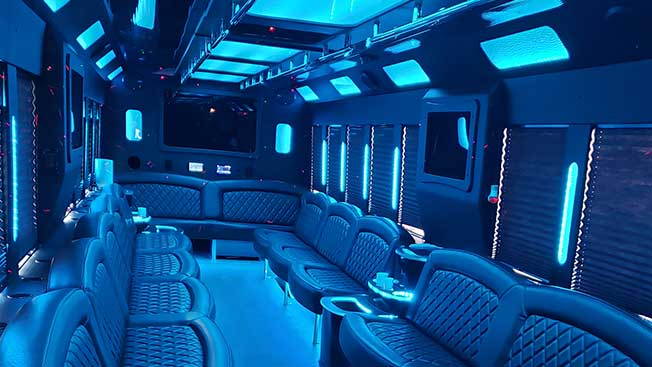 charleston party bus rentals